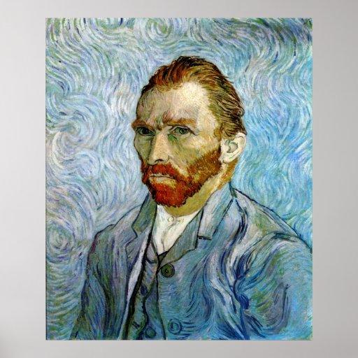 Autorretrato c.1899, Vincent van Gogh Póster