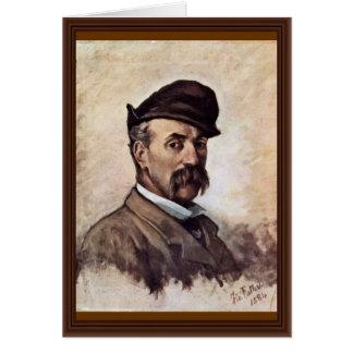 Autorretrato de cincuenta años de Fattori Juan Felicitaciones