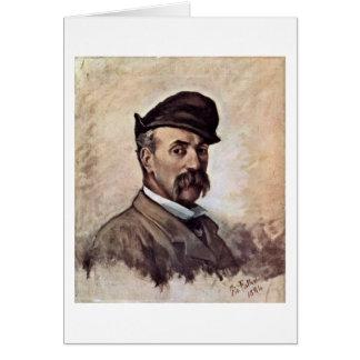 Autorretrato de cincuenta años de Giovanni Fattori Felicitaciones
