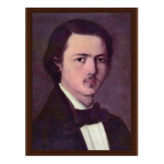 Autorretrato de Grigorescu Nicolae (la mejor calid Tarjetas Postales