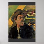Autorretrato de Paul Gauguin (la mejor calidad) Impresiones