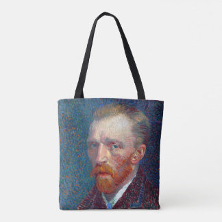 Autorretrato de Vincent van Gogh Bolsa De Tela