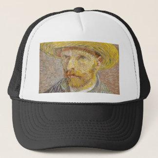 Autorretrato de Vincent van Gogh con arte del Gorra De Camionero