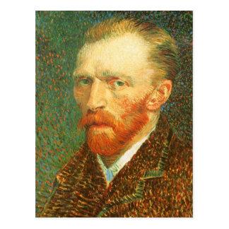 Autorretrato, Vincent van Gogh, bella arte del vin Tarjetas Postales