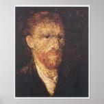 Autorretrato, Vincent van Gogh Poster
