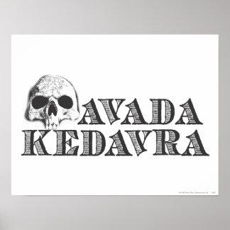 Avada Kedavra Posters