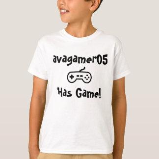 avagamer05 camiseta