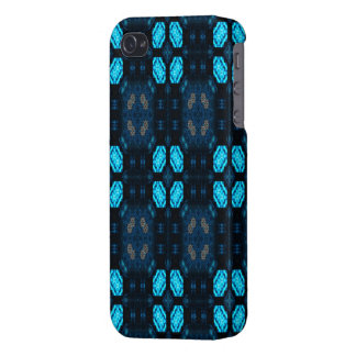 Avenida azul iPhone 4 carcasas