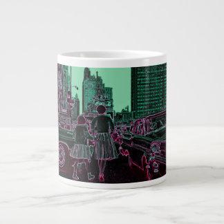 Avenida Chicago 1961 de Michigan de la hija de la Taza De Café Grande
