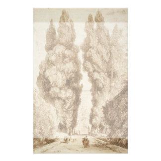 Avenida de Cypress en el chalet d Este Tivoli por Flyer A Todo Color