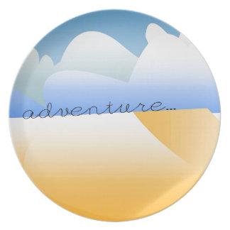 aventura en desierto plato