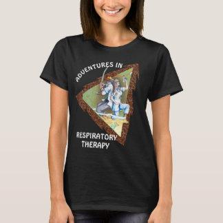 AVENTURA RESPIRATORIA del CUIDADO por Camiseta