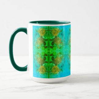 Aventura verde azteca taza