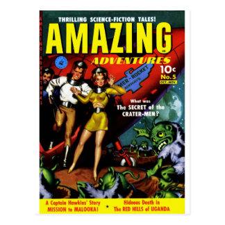 Aventuras asombrosas - el secreto de los Cráter-Ho Postal