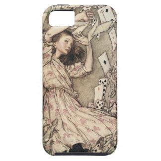 Aventuras de Alices del vintage en el país de las iPhone 5 Protectores