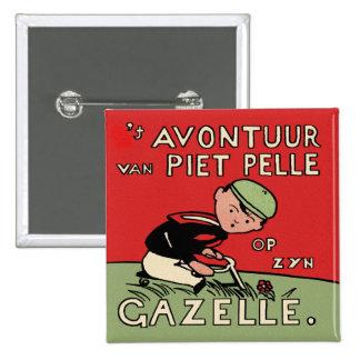 Aventuras de la bicicleta de Piet Pelle Pin
