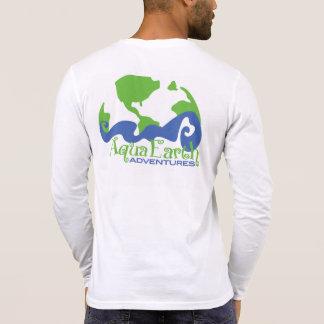Aventuras de la tierra de la aguamarina camiseta