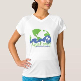 Aventuras de la tierra de la aguamarina camisetas