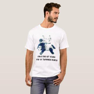 Aventuras del barro amasado y de la panda camiseta