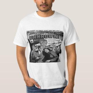 Aventuras en la cubierta cómica desconocida #25 - camiseta
