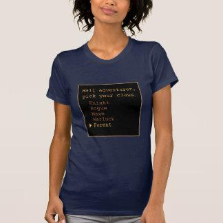 Aventurero del padre camisetas