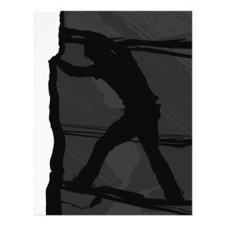 Aviador de Bouldering del escalador de roca Tarjetas Publicitarias
