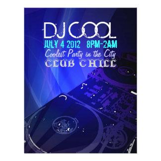 Aviador de DJ Folleto 21,6 X 28 Cm
