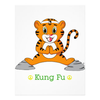 Aviador de Kung Fu Tiger™ Tarjetón