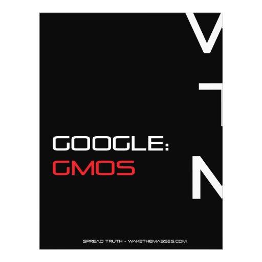 Aviador de la conciencia de Google GMOS Tarjeta Publicitaria