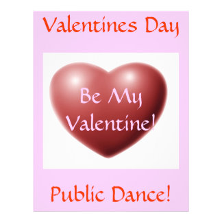 Aviador de la danza pública del día de San Valentí Tarjetas Publicitarias