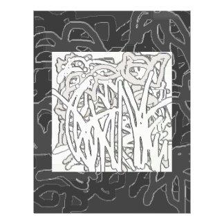 Aviador de la selva de la pintada folleto 21,6 x 28 cm