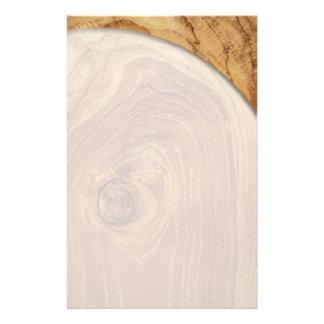 aviador de madera del personalizado de la foto de folleto 14 x 21,6 cm