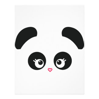 Aviador de Panda® del amor Flyer A Todo Color