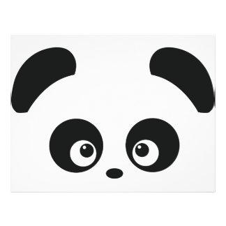 Aviador de Panda® del amor Folleto 21,6 X 28 Cm