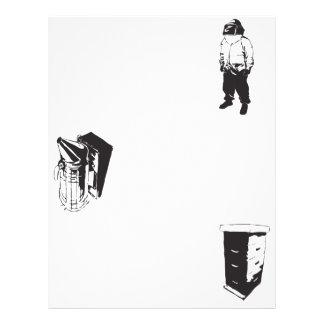 Aviador de polinización de la abeja folleto 21,6 x 28 cm