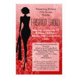 Aviador del desfile de moda del día de fiesta, tarjetas informativas