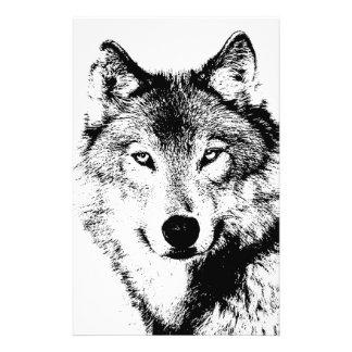 Aviador del lobo 5 5x8 5 tarjetas publicitarias