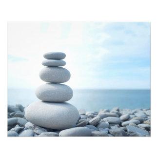 Aviador del masaje de la meditación de la folleto 11,4 x 14,2 cm