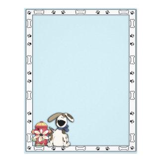 Aviador del perro folleto 21,6 x 28 cm