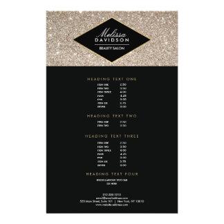 Aviador del salón de belleza del brillo y del folleto 14 x 21,6 cm
