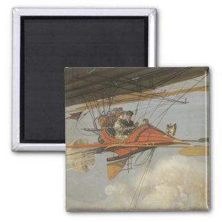 Aviador del vapor imán cuadrado
