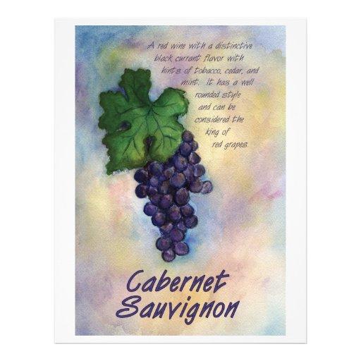 Aviador del vino de Cabernet-Sauvignon Tarjetones