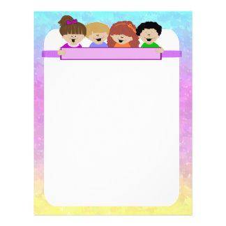 Aviador lindo de la guardería de los niños tarjetas informativas