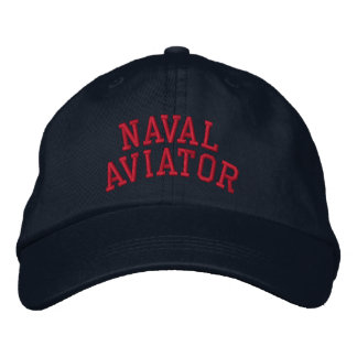 Aviador naval gorras de beisbol bordadas