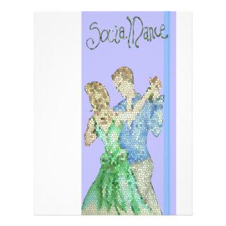 aviador social de la danza folleto 21,6 x 28 cm