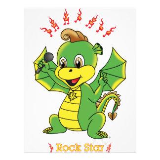 Aviadores de Rockstar™ del dragón Tarjetón