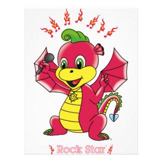 Aviadores de Rockstar™ del dragón Tarjetones