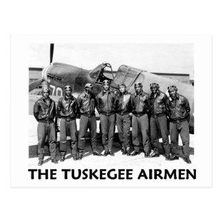 Aviadores de Tuskegee Postal