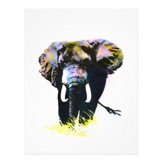 Aviadores del elefante tarjetas informativas