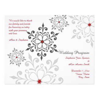 Aviadores del programa del boda del día de fiesta folleto 21,6 x 28 cm